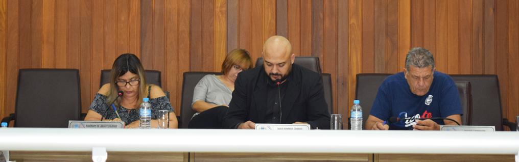 Câmara Municipal realiza a 10ª Sessão Ordinária de 2019