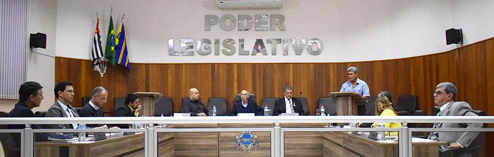 Câmara Municipal realiza 18ª Sessão Ordinária e 6ª Extraordinária de 2018
