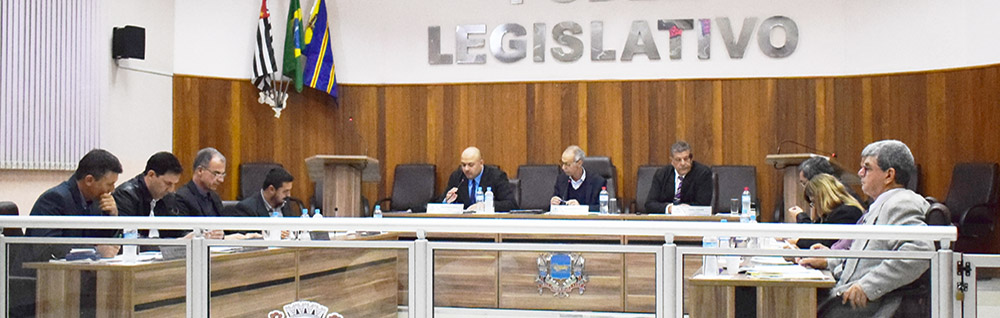 Câmara Municipal realiza a 19ª Sessão Ordinária de 2018