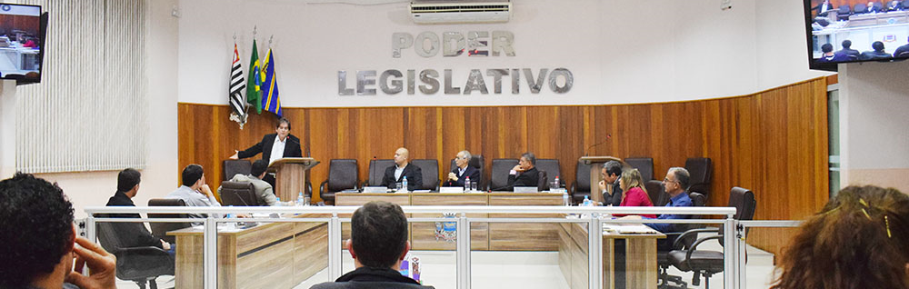 Câmara Municipal realiza a 20ª Sessão de 2017