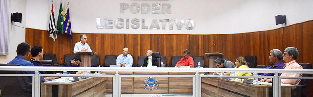 Câmara Municipal realiza a 21ª Sessão Ordinária de 2018