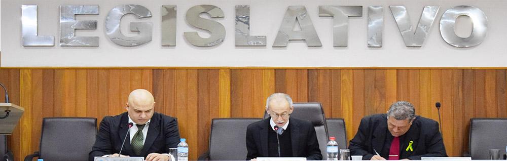 Câmara Municipal realiza a 22ª Sessão Ordinária de 2018