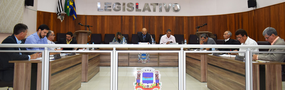 Câmara Municipal realiza 22ª Sessão Ordinária e 12ª Extraordinária de 2019