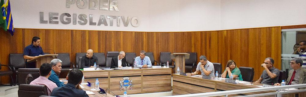 Câmara Municipal realiza a 23ª Sessão Ordinária do ano