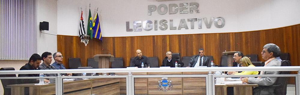 Câmara Municipal realiza a 23ª Sessão Ordinária de 2018