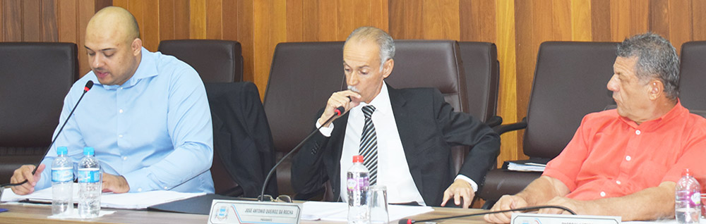 Câmara Municipal realiza a 24ª Sessão Ordinária do ano
