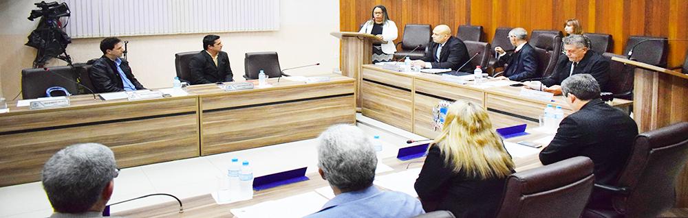 Câmara Municipal realiza a 24ª Sessão Ordinária de 2018