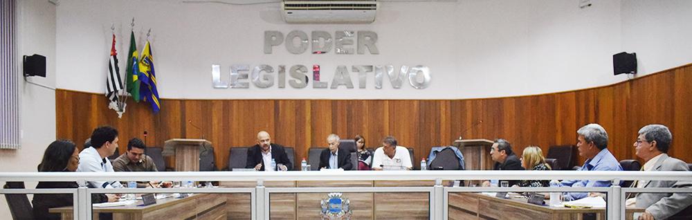 Câmara Municipal realiza a 28ª Sessão Ordinária de 2018