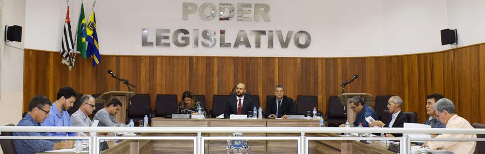 Câmara Municipal realiza a 29ª Sessão Ordinária de 2019