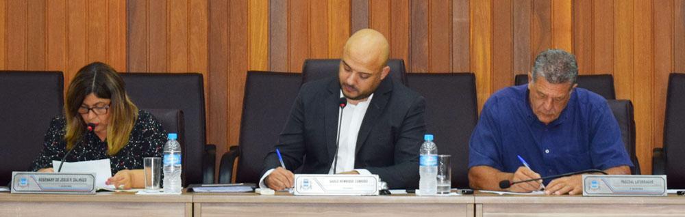 Câmara Municipal realiza a 30ª Sessão Ordinária e 14ª Extraordinária de 2019