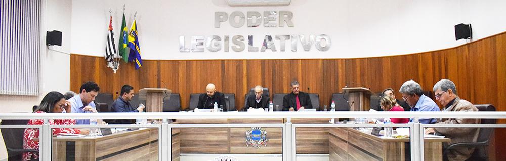 Câmara Municipal realiza a 30ª Sessão Ordinária de 2018.