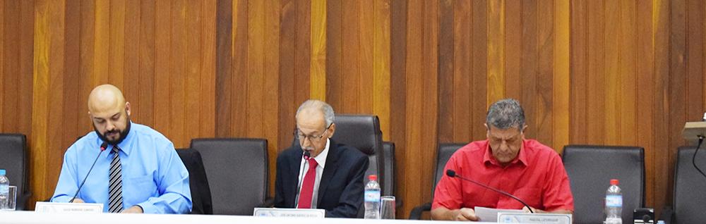 Câmara Municipal realiza a 32ª Sessão Ordinária de 2018