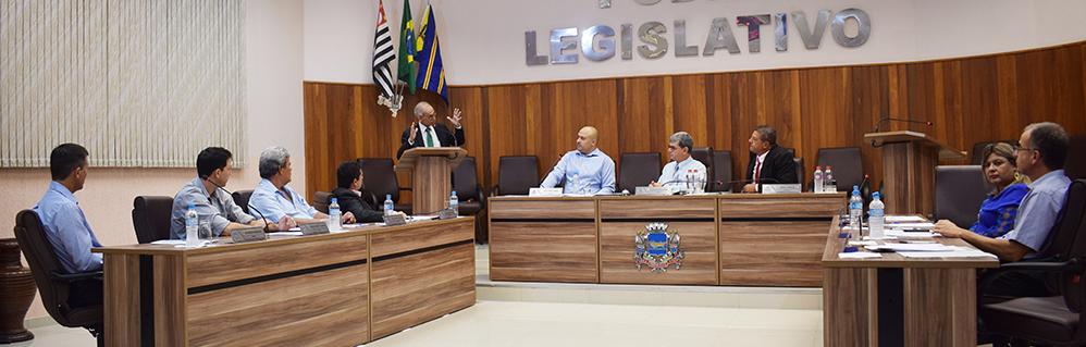Câmara Municipal realiza a 7ª Sessão Ordinária do ano