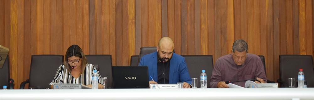 Câmara Municipal realiza a 3ª Sessão Ordinária de 2019