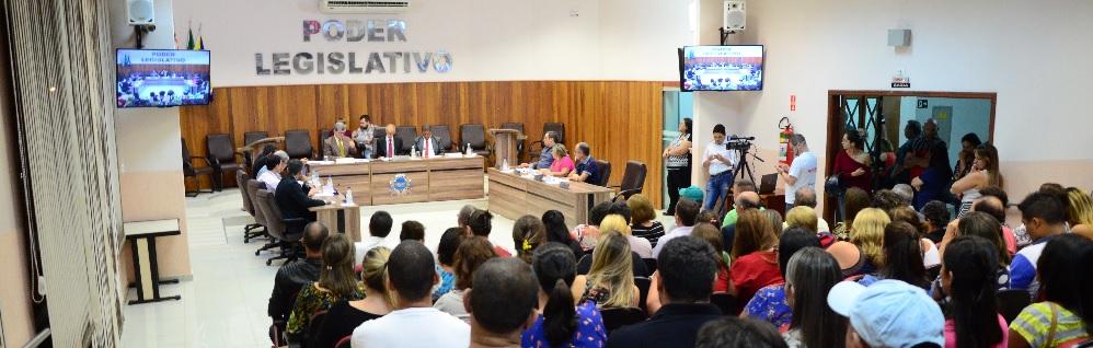 Câmara Municipal realiza a 4ª Sessão Ordinária do ano