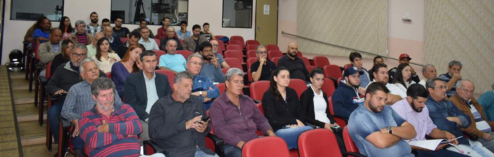 Câmara Municipal realiza Audiência Pública referente ao Plano Diretor