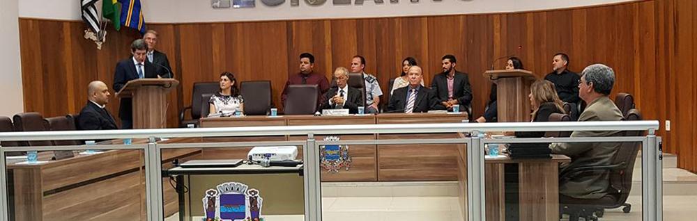 Câmara Municipal realiza Sessão Solene de abertura da Semana do Meio Ambiente